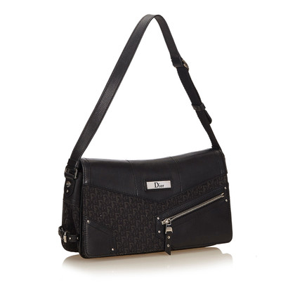 Christian Dior Diorissimo Jacquard Shoulder Bag