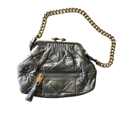 Marc Jacobs Silver quilted patchwork