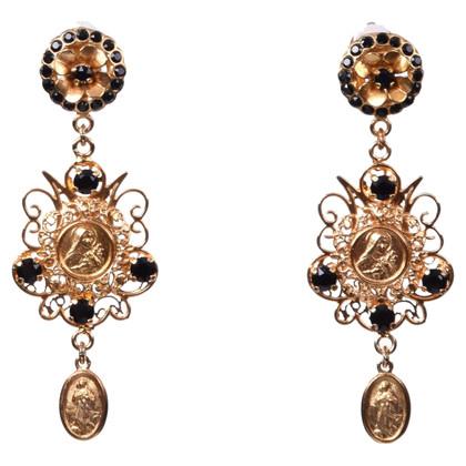 Dolce & Gabbana Boucles d'oreilles avec cristaux