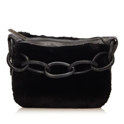 Chanel Fur Shoulder Bag