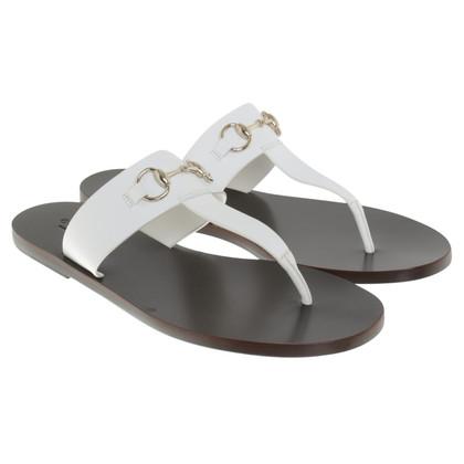 Gucci Sandalen in Weiß