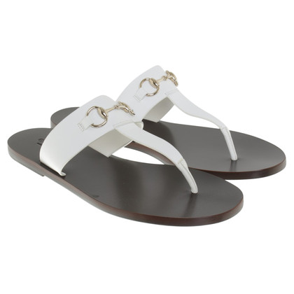 Gucci Sandals in white