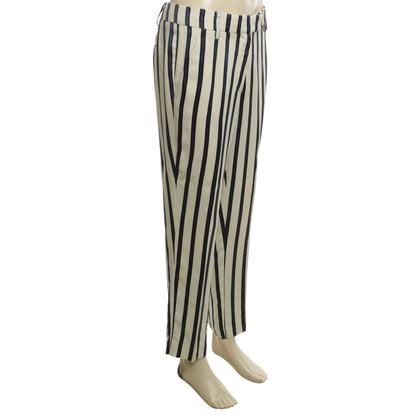 Maliparmi Pantalon avec motif rayé