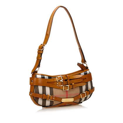 Burberry Plaid Jacquard Shoulder tas