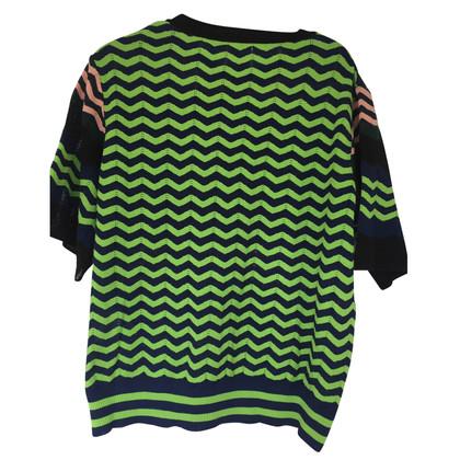 Missoni maglione a maniche corte