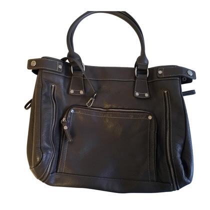 Longchamp Schultertasche aus Leder