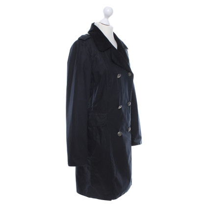 Barbour Coat in dark blue