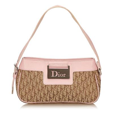 Christian Dior Diorissimo Jacquard Handbag