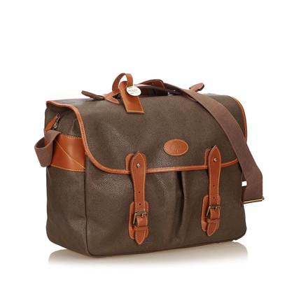 Mulberry Textured PVC Shoulder Bag