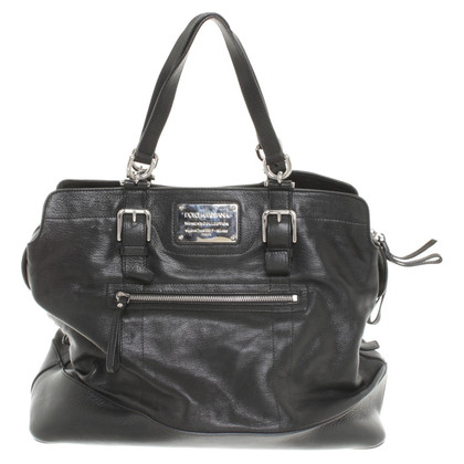 Dolce & Gabbana Leather Handbag in Black