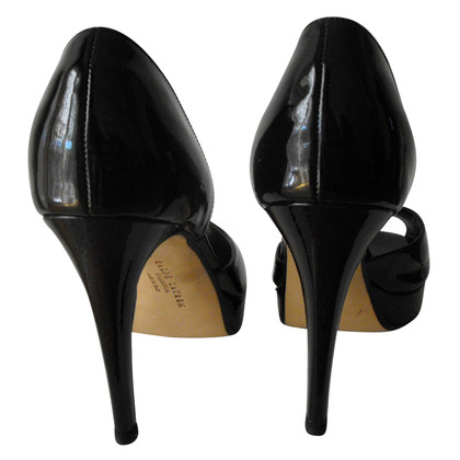 Ralph Lauren Peeptoes made of patent leather