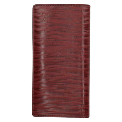 "Louis Vuitton ""Brazza Epi Leather Bordeaux"""