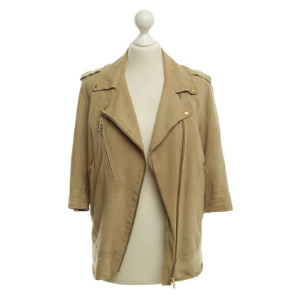 Acne Leather jacket in beige