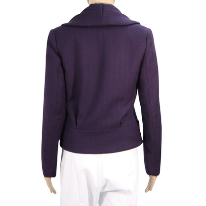 Reiss Wolljacke in Violett