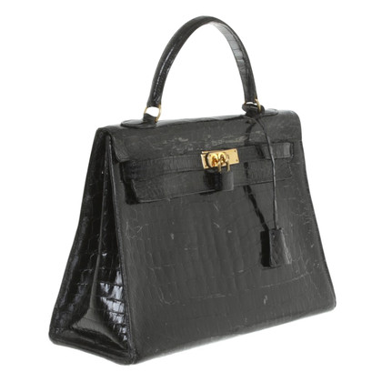"Hermès ""Kelly Bag 35"" de Crocleather"