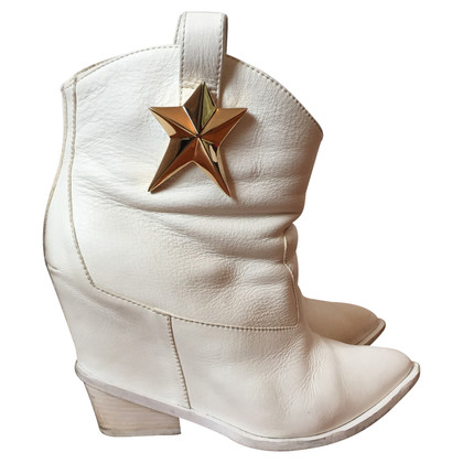 Giuseppe Zanotti Stivali in bianco