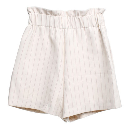 Ganni Shorts with pinstripes