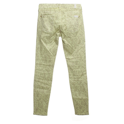 7 For All Mankind Jeans with Spitzenprint