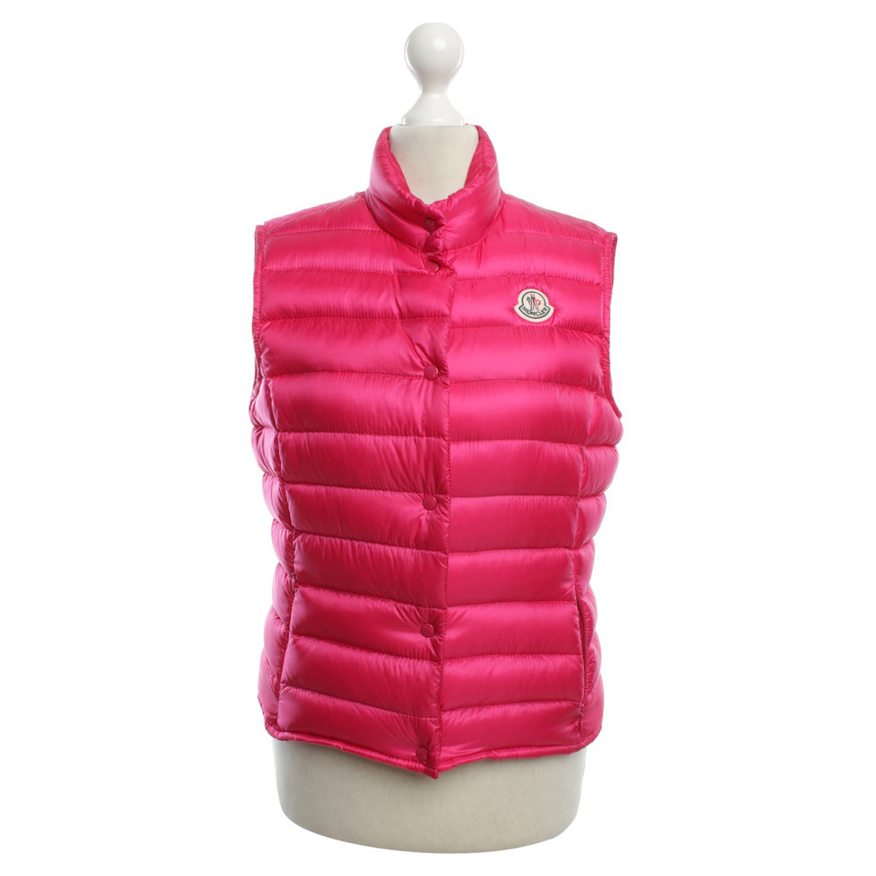 Moncler Waistcoat in pink