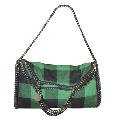 Stella McCartney Falabella bag plaid wool