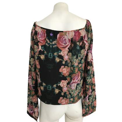 Patrizia Pepe Bluse mit floralem Print