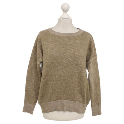 By Malene Birger Sweater in gold / green