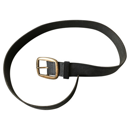 Isabel Marant Wide leather belt with big buckle