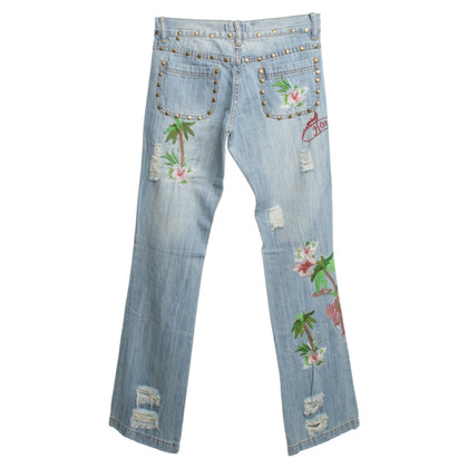 Dolce & Gabbana Jeans with embroidery