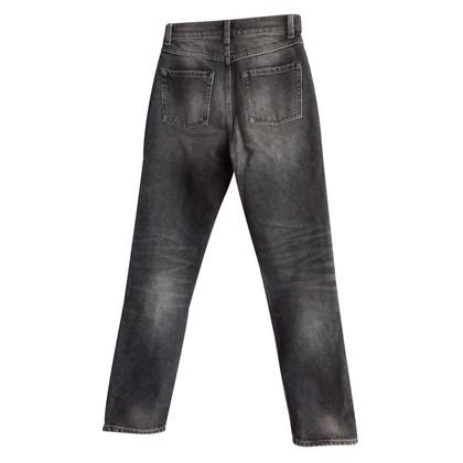 Sandro Pantalon jean slim noir