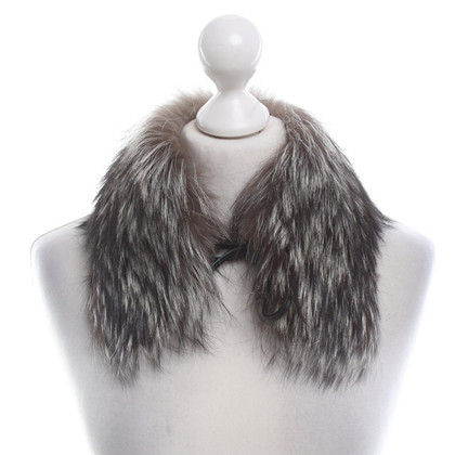 Longchamp Collar made of fox fur