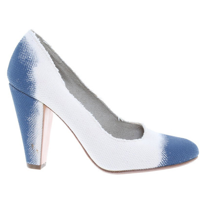 Jil Sander Pumps in Bicolor