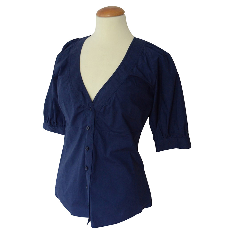 Schoudertassen Zomer : Moschino love blauwe zomer blouse etui koop tweedehands