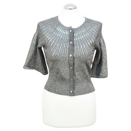 Karen Millen Sweater in zilver