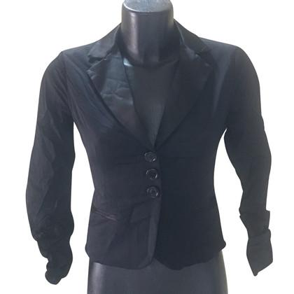 Elisabetta Franchi Short smoking style jacket