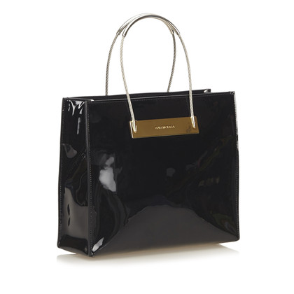 Balenciaga Cavo Shopper in pelle di brevetto
