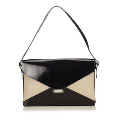 Céline Leren Diamond Shoulder tas