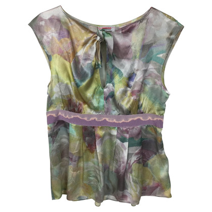 Moschino Cheap and Chic top silk