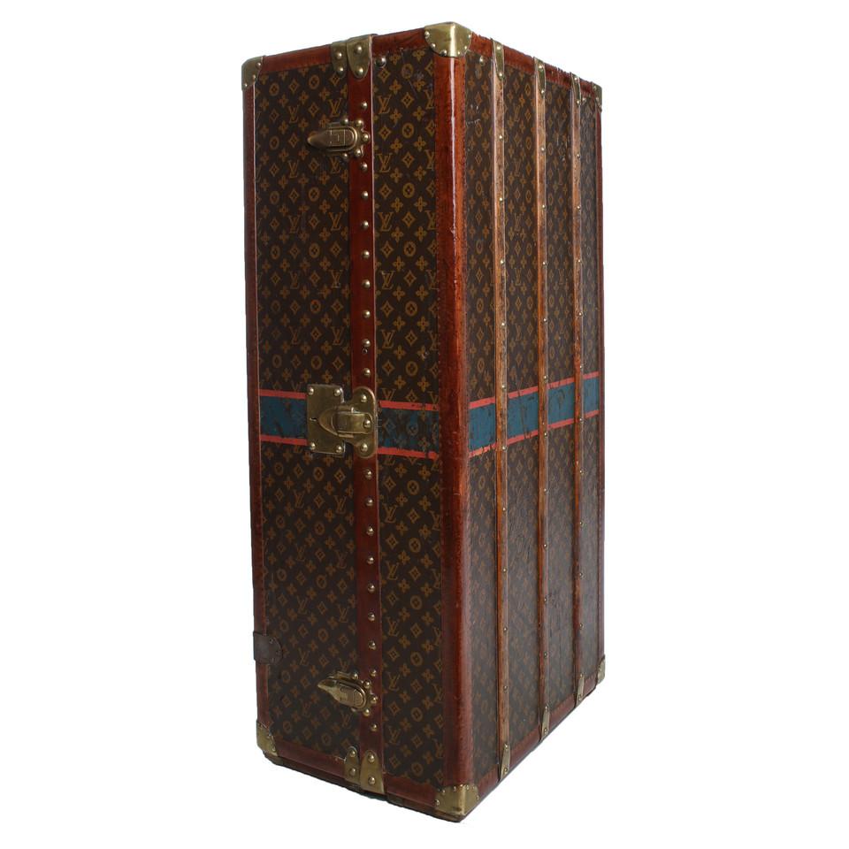Louis Vuitton Antiker Schrankkoffer von 1925 - Second Hand Louis ...