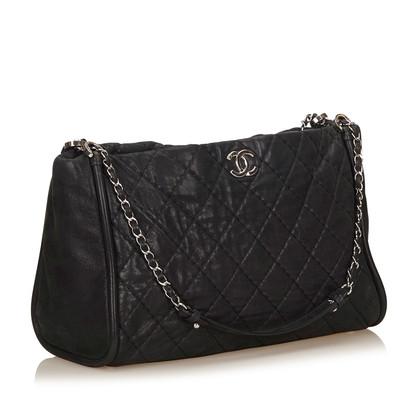 Chanel Matelasse Nylon Tote Bag