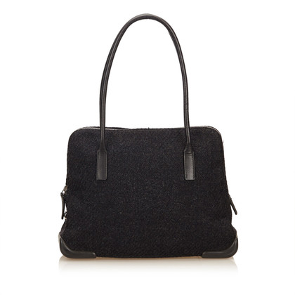 Prada Wool Shoulder Bag