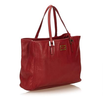 Fendi Leder Tote Bag