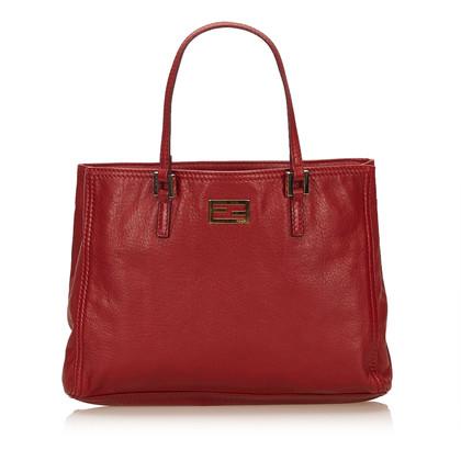 Fendi Leather Tote Bag