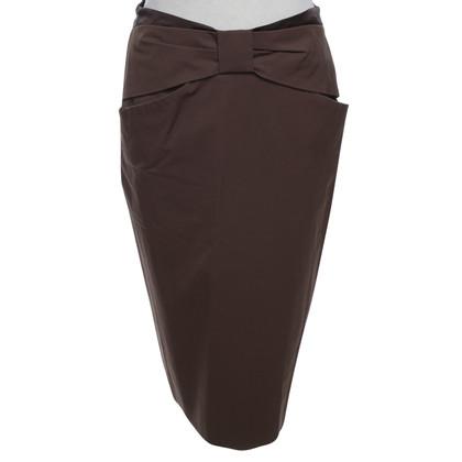 Schumacher skirt in brown