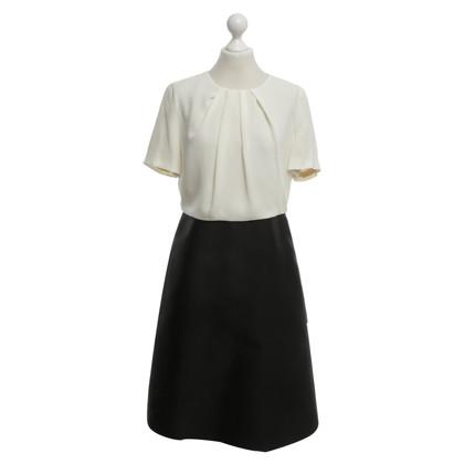 Max Mara Ausgestelltes Kleid in Bicolor