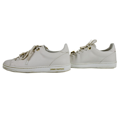 "Louis Vuitton ""Frontrow sneaker"" in bianco"