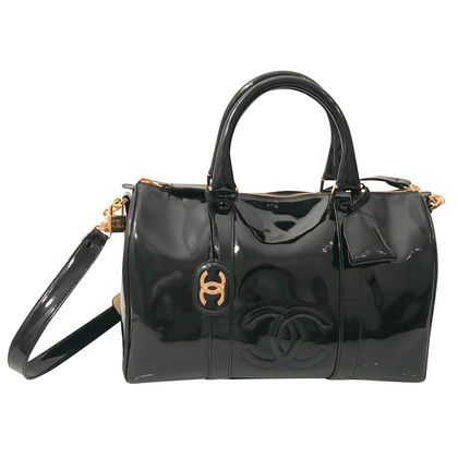 Chanel Borsa in pelle di brevetto