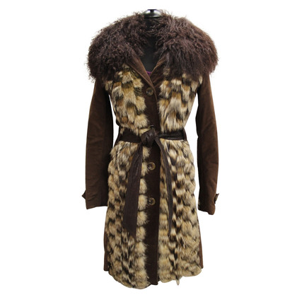Dolce & Gabbana Dolce & Gabbana Lambskin Coat