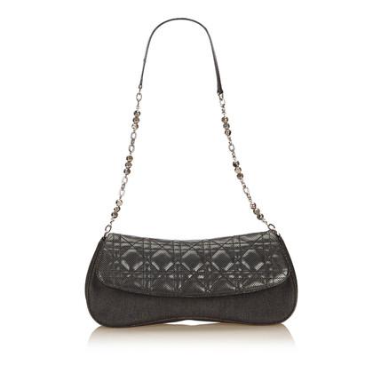 Christian Dior Cannage Denim Shoulder bag