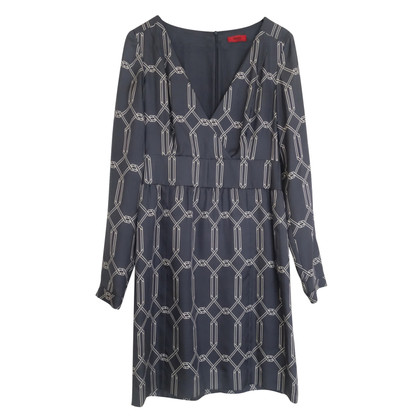 Hugo Boss Hugo silk dress dark blue