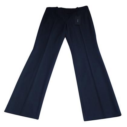 Windsor pantaloni classici di affari in nero